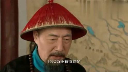 影视:雍正赐死年羹尧,却又顺嘴说起他的好,真场面瞬间尴尬