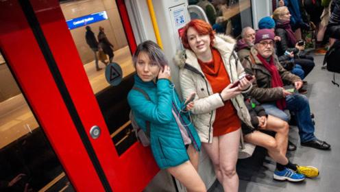 荷兰女性有多开放?到地铁转一圈就知道了,实在太另类了