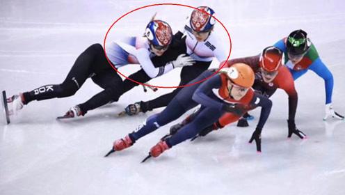 真奇观!韩国短道速滑选手对队友下黑手,网友:喜闻乐见