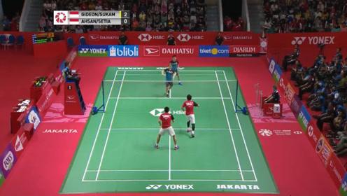 苏卡穆约 费尔纳迪 vs 阿山 塞蒂亚万 印尼大师赛 总决赛精彩集锦