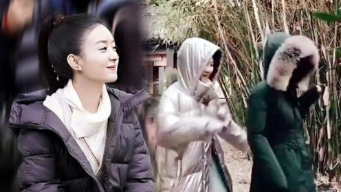 赵丽颖不受《有翡》剧情魔改影响,与张慧雯片场斗舞,像企鹅打架