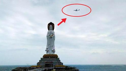 为什么飞往三亚的飞机,都要在南海观音像上转一圈?真相没这么简单
