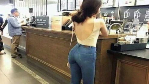 女性穿裤子时很少系腰带,为什么裤子不会掉呢?看完涨知识了!