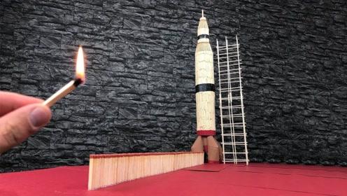 """火柴""""火箭""""可以成功起飞吗?"""