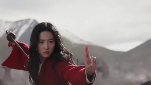 刘亦菲版《花木兰》新预告曝光,巩俐女巫造型亮相,李连杰甄子丹首出场