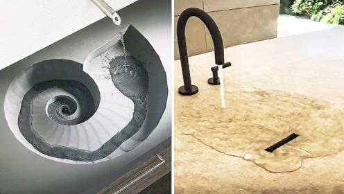 这4个难得一见的水槽,到底为什么要这样设计?