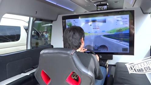 日本改装车比赛中,两款奇特的面包车,剪刀门只是其中一部分