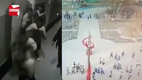 新疆地震师生5秒有序撤离教室,4.9级地震未造成人员伤亡