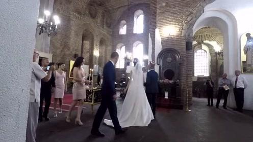 看完外国人的婚礼仪式,中国男人哭晕了,压力太大!