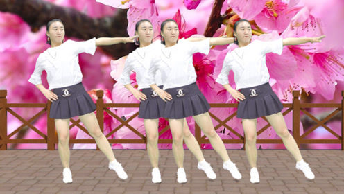 DJ广场舞《妹妹你是我的人》,美女舞姿潇洒,魅惑性感