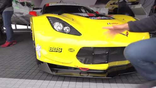 外媒介绍2019 款Corvette C8的前部外观
