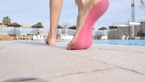 """世界上最轻便的""""隐形鞋"""",穿它就像光脚一样,难道不怕扎脚吗?"""