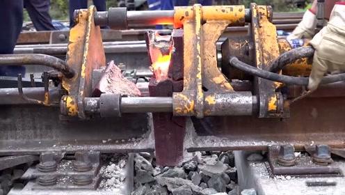 难得一见的德国无缝焊接技术,今天算是大开眼界了