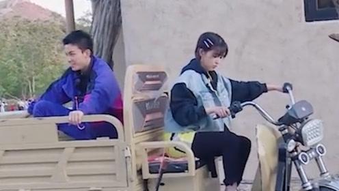 阚清子骑小三轮状况百出,师父吴磊跳车直言:我不坐了!