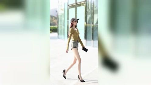 肤白貌美大长腿,这样的姑娘满大街也遇不到几个吧?