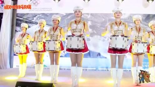 平均身高180cm!俄罗斯皇家军鼓队眼神睥睨天下