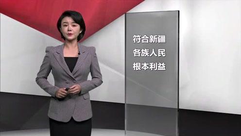 新华社评论员:新疆反恐和去极端化措施是正义之举
