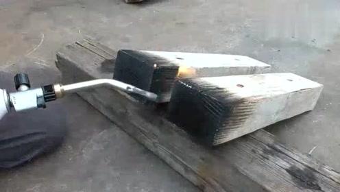 实拍日本小伙加工木头的过程,技术确实有点先进了!
