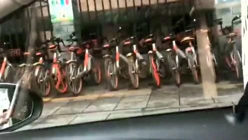 别问我我的城市有没有风,风大不大,共享单车都已经告诉你了!