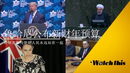 每日全球政要:鲁哈尼引俄投资抵御美国制裁 特朗普称要力挺伊朗人民