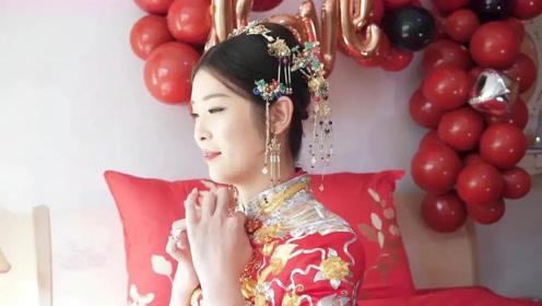 四川29岁姑娘,因长得太特别被北京亿万富商娶走,猜猜富商啥样
