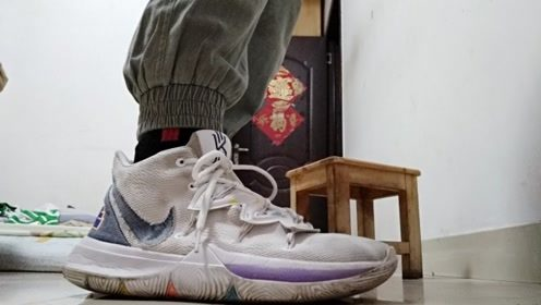 球鞋分享:350元的莆田欧文五笑脸,穿了3个月后鞋子的缓震
