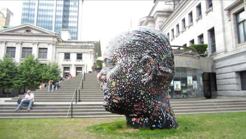 """世界上最受人""""唾弃""""的雕像,被口香糖覆盖,设计师别有用心"""
