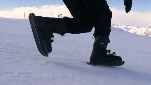 万年不变的滑雪运动,被一双玻璃鞋底改变了?溜冰滑雪都能玩