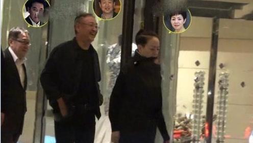 59岁宋丹丹皮肤保养好 约赵宝刚海岩吃饭老公陪同很甜蜜