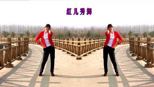 红红儿姐妹双人对跳健身操,这么美的景色是哪里啊,空气好减肥速度也快