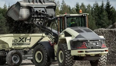 """德国耗资13.7亿打造""""智能矿车"""",68吨大车无人驾驶,这科技真牛"""