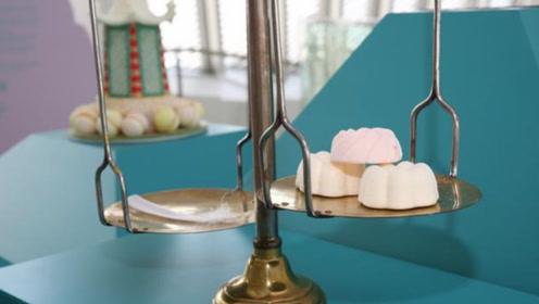 """世界上""""最轻""""的甜点,大部分都是由空气组成,重量仅有1克"""