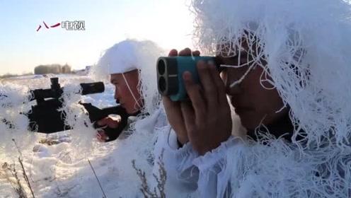 """着眼新疆反恐 武警特战队员""""魔鬼周""""挑战雪天射击"""