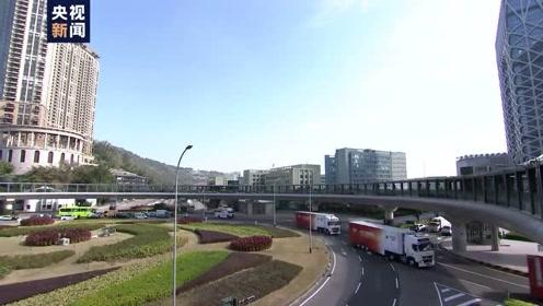 全程记录:总台转播车队跨越港珠澳大桥 抵达澳门