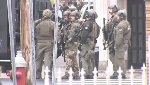 """现场枪声不断!美新泽西州爆发枪战致6人死 执法人员:系""""伏击"""""""
