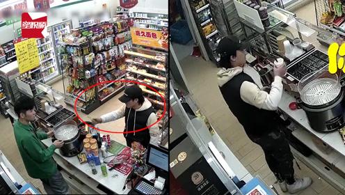 山西24岁小伙持刀抢劫,抢了25元就逼老板报警:我就想坐牢