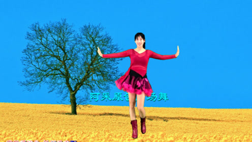 老歌新跳的健身舞《爱情鸟》超级好看可爱,跳出健康好身材