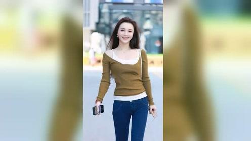 大街上遇到的新疆小姐姐,这一笑也太美了!
