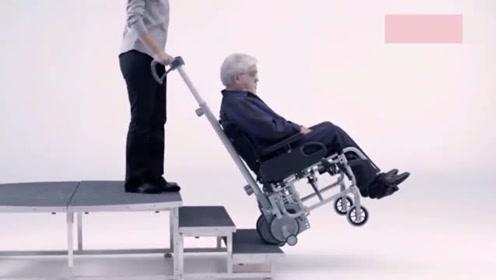 德国为残疾人研发的轮椅机械,简直刷新了我的认知,太先进了