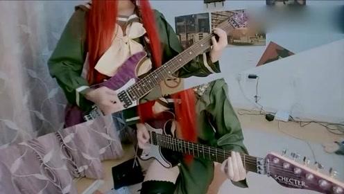 电吉他版改编《夏娜》,不一样感觉!