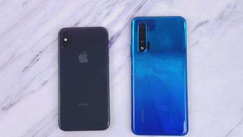 华为Nova6速度对比iPhoneX,华为中端机有多彪悍?
