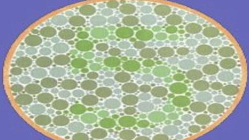 眼力色觉测试:图中数字是几?正常几秒即可答出