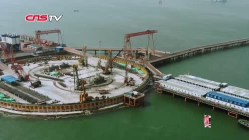 深中通道再有新进展世界最大海中锚碇进入实体施工阶段