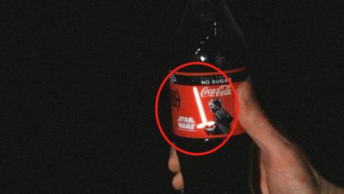 一摸就能亮!全球限量8000瓶的星战联名可乐,一瓶单价却让中国网友死心
