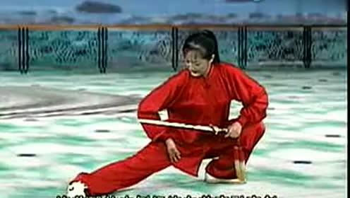 杨式太极拳三段单练套路,演练者梁小葵图片
