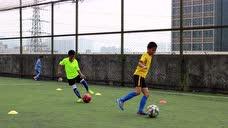 2016年12月03日足球训练控球高级之左右脚掌碎步滚球 - 腾讯视频