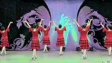 杨艺广场舞《吐鲁番的葡萄熟了》背面教程