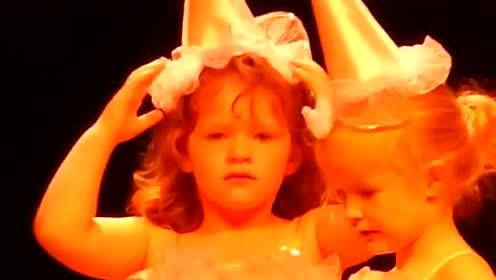 灵魂舞者是怎么练成的?萌娃们太卖力了