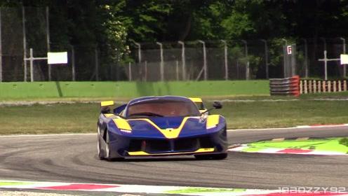 迈凯伦P1 GTR vs. 法拉利FXX K蒙扎赛道谁更强?