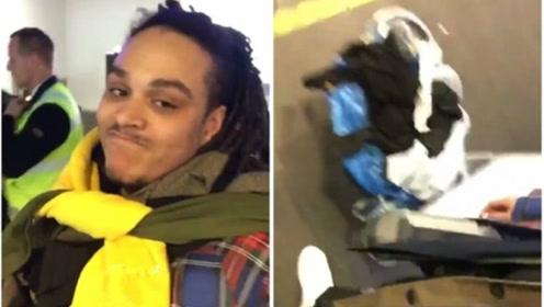 英国男子为省行李超重费 穿上8条裤子10件T恤被拒登机